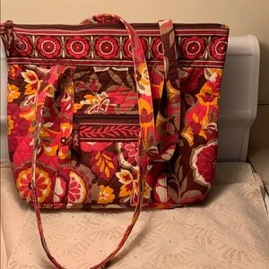 Vera Bradley Tote Purse Mint Condition Hardly Used